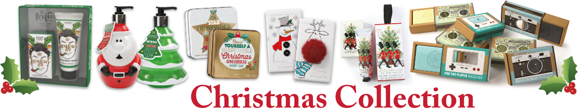 Christmas Gifts and Christmas Soaps