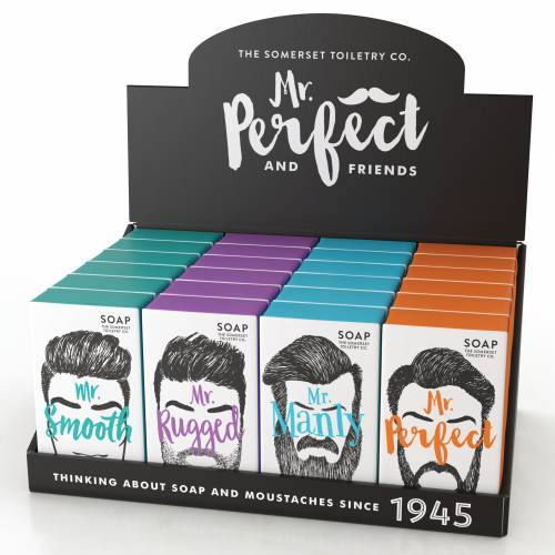 Mr Perfect And Friends from The Somerset Toiletry Company