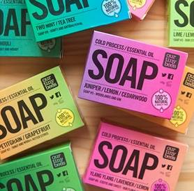 Natural soaps collection