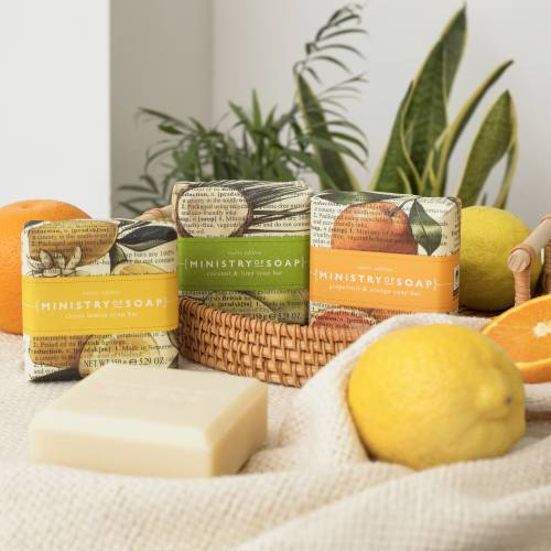 Exotic Edition fruit soaps by Ministry of Soap