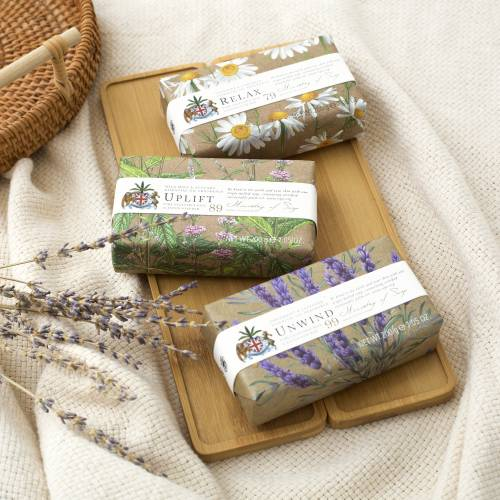 Wellbeing scented soap bars