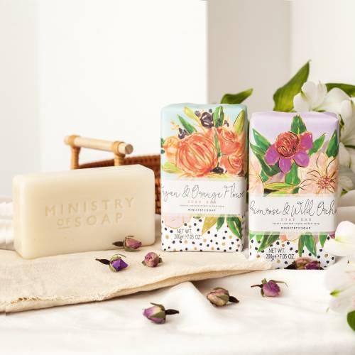 Painted Marks soaps range