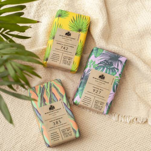 Natural Rainforest soaps collection