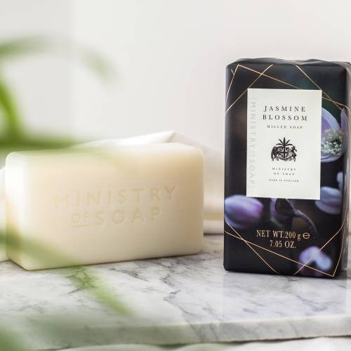 Dark Floral soaps by Ministry Of Soap