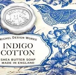Indigo Cotton by Michel Design Works