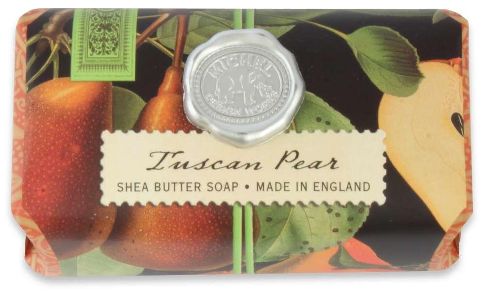 Tuscan pear large soap bar