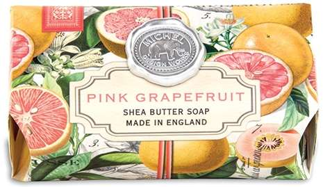 Pink Grapefruit large soap bar