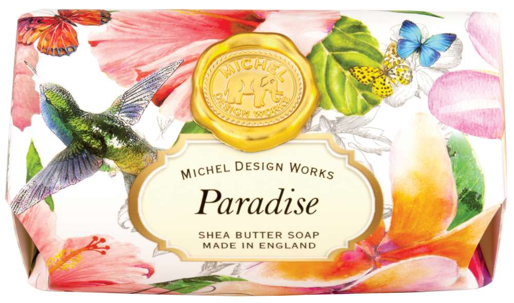 Paradise large soap bar