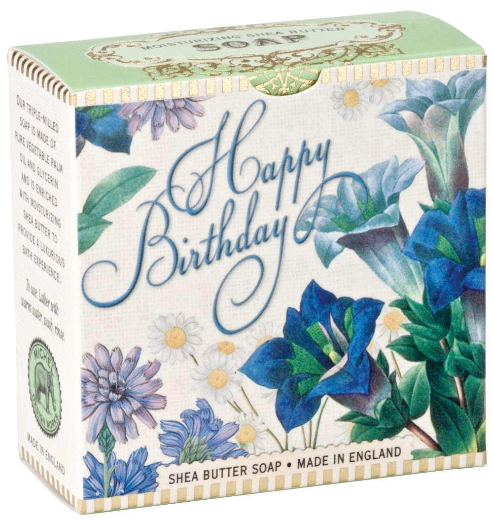 Michel Design Works Blue Birthday Little Soap