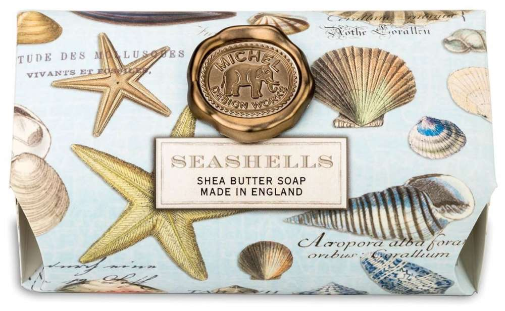 Michel Design Works Seashells Large Soap Bar