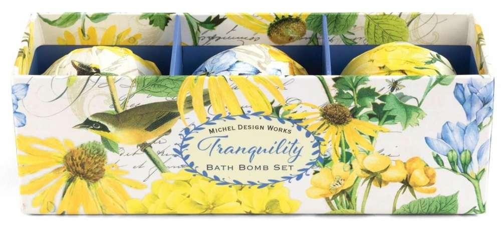 Michel Design Works Tranquility Bath Bomb Set