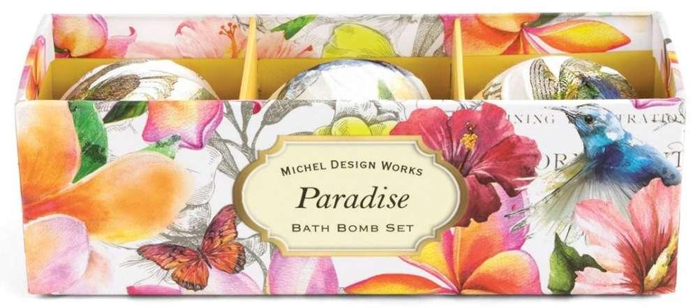 Michel Design Works Paradise Bath Bomb Set