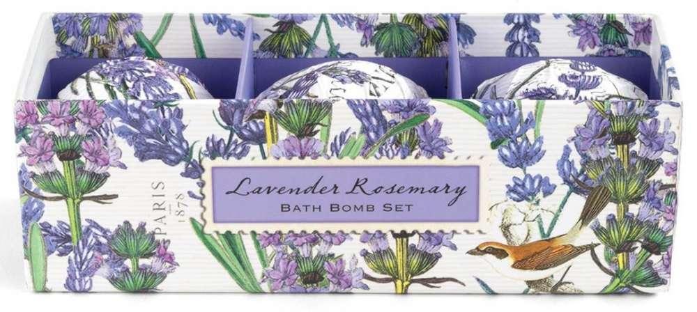 Michel Design Works Lavender Rosemary Bath Bomb Set