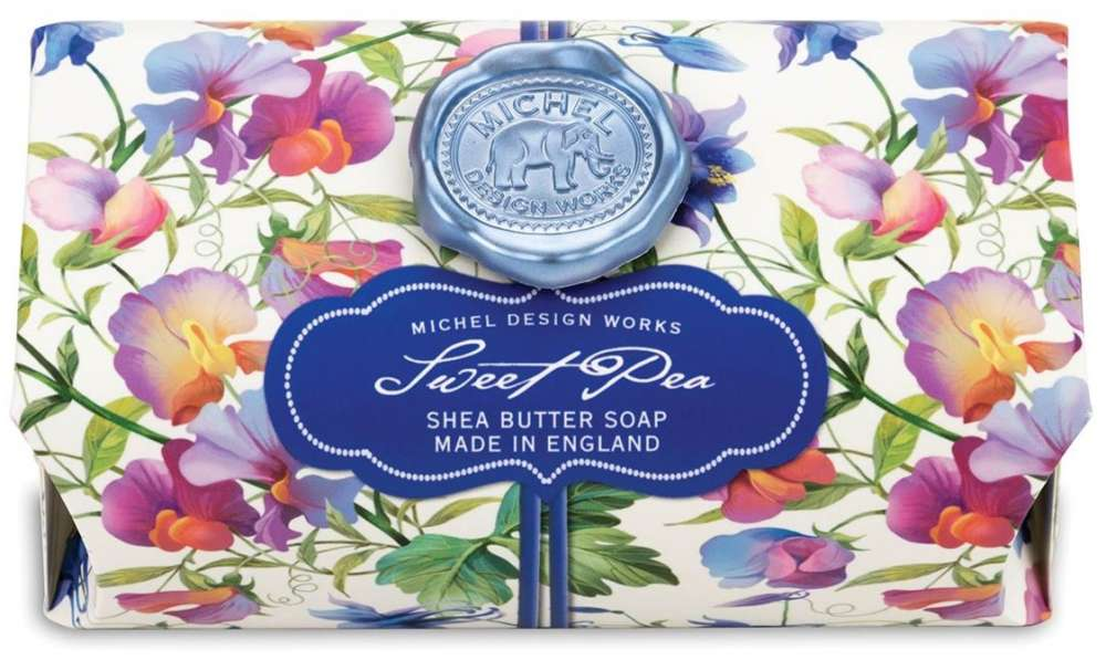 Michel Design Works Sweet Pea Large Soap Bar