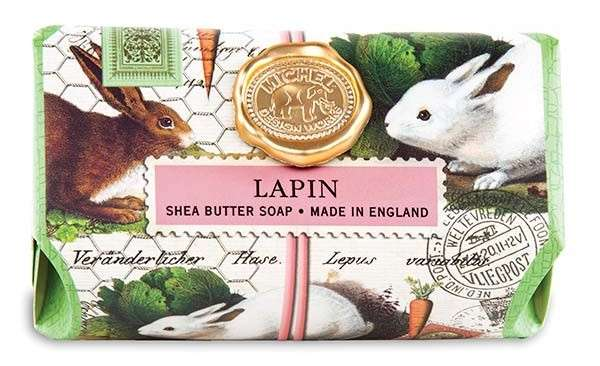 Lapin Shea Butter Large Soap Bar