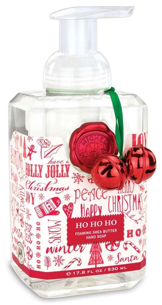 Ho ho ho foaming soap