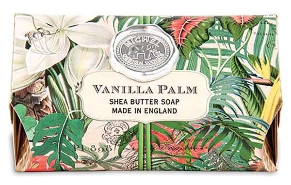 Vanilla Palm Shea Butter Large Soap Bar