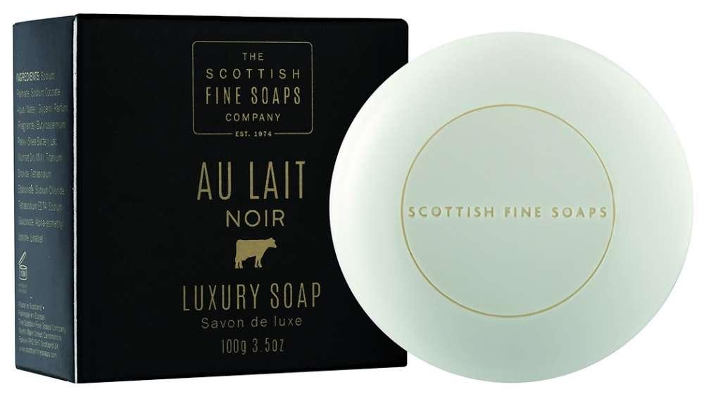 A00270 au lait noir luxury soap 100gm