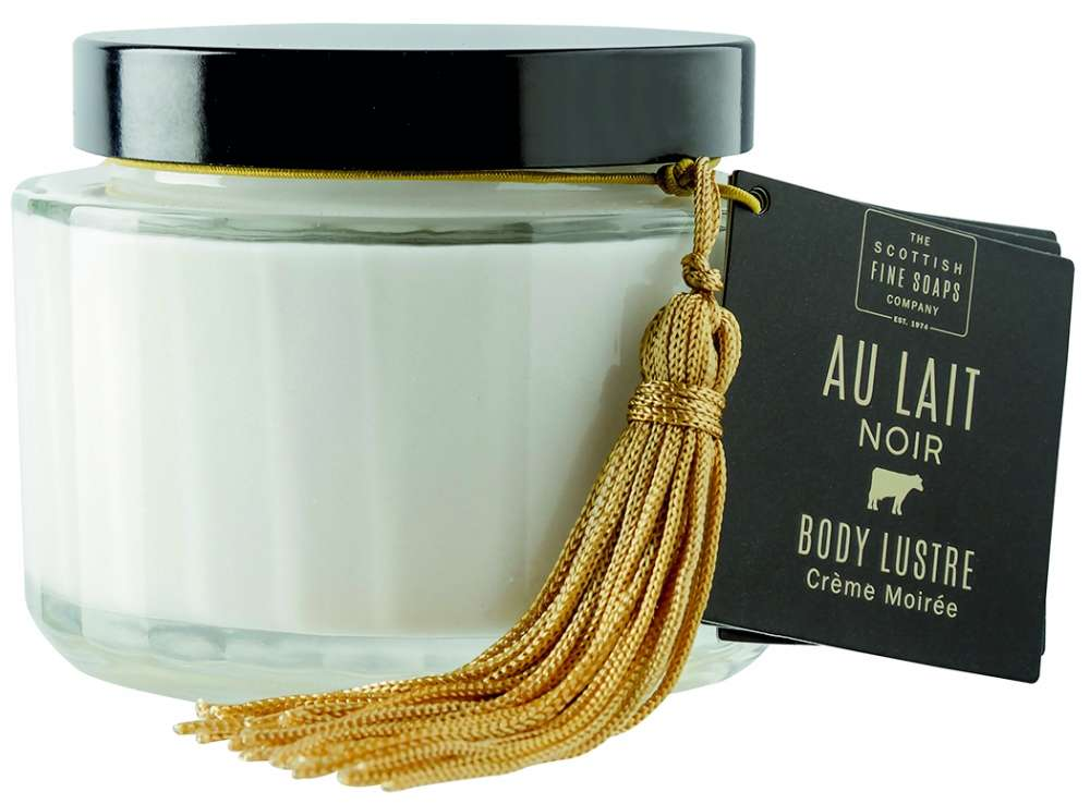 A00272 au lait noir body lustre jar 150ml