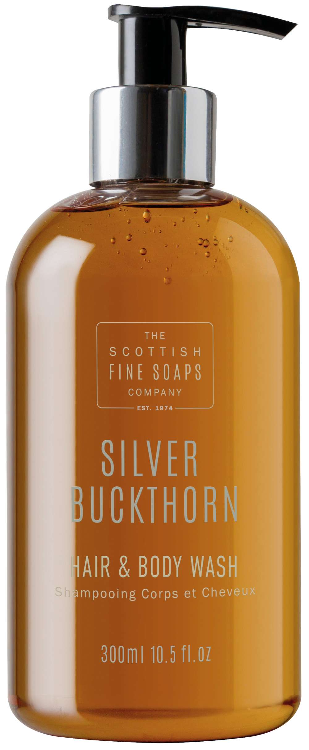 silver buckthorn hair and body wash