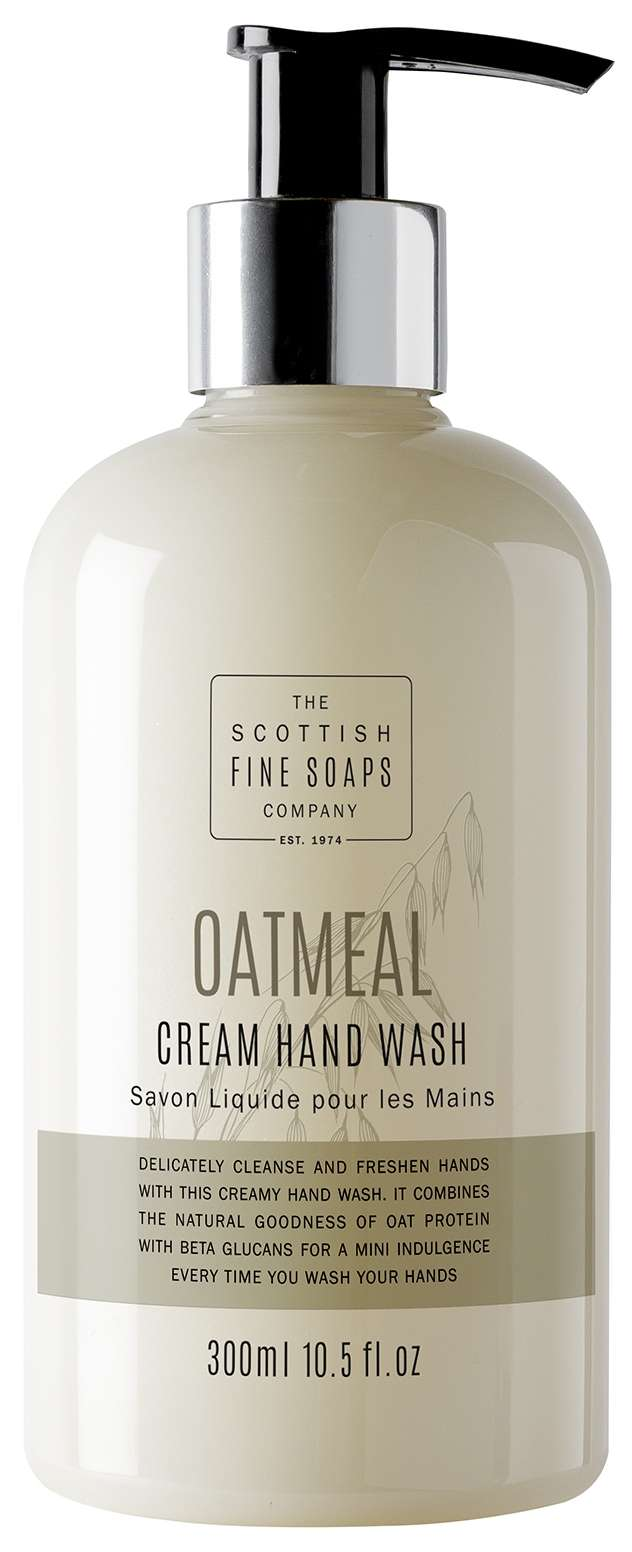 Oatmeal hand wash