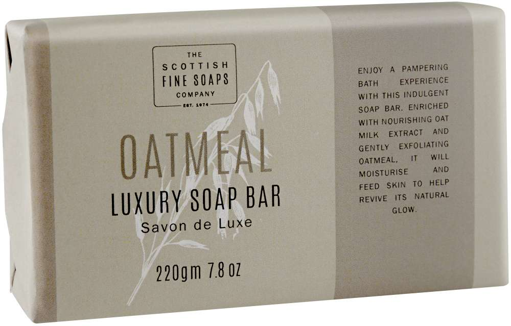 Oatmeal luxury soap bar