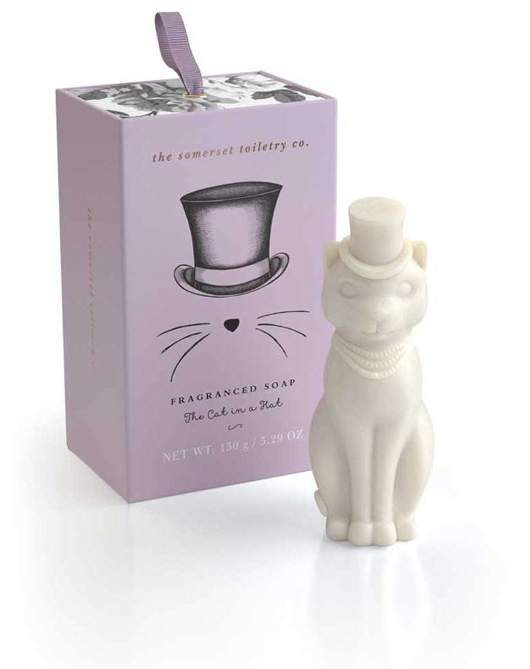 The cat in a hat soap