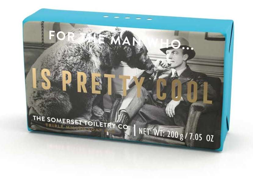 For the man who - is pretty cool
