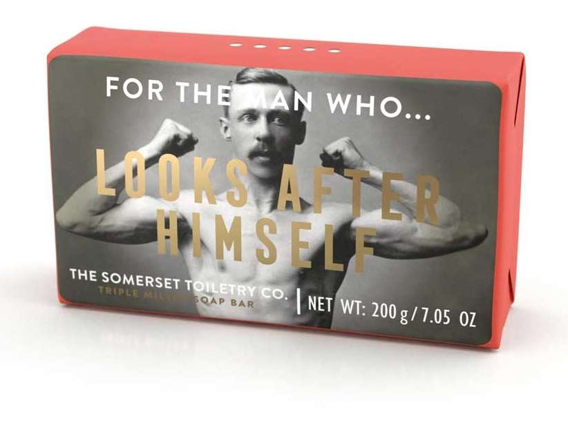 For the man who - looks after himself soap