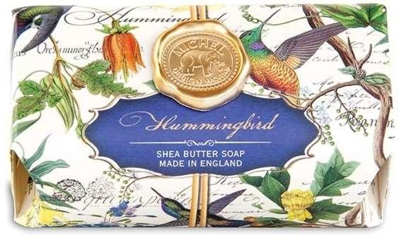 Hummingbird Large Soap Bar