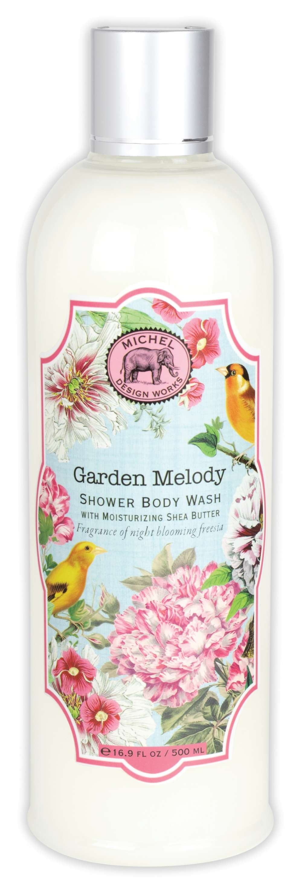 Garden Melody Shower Body Wash New By Michel Design Works