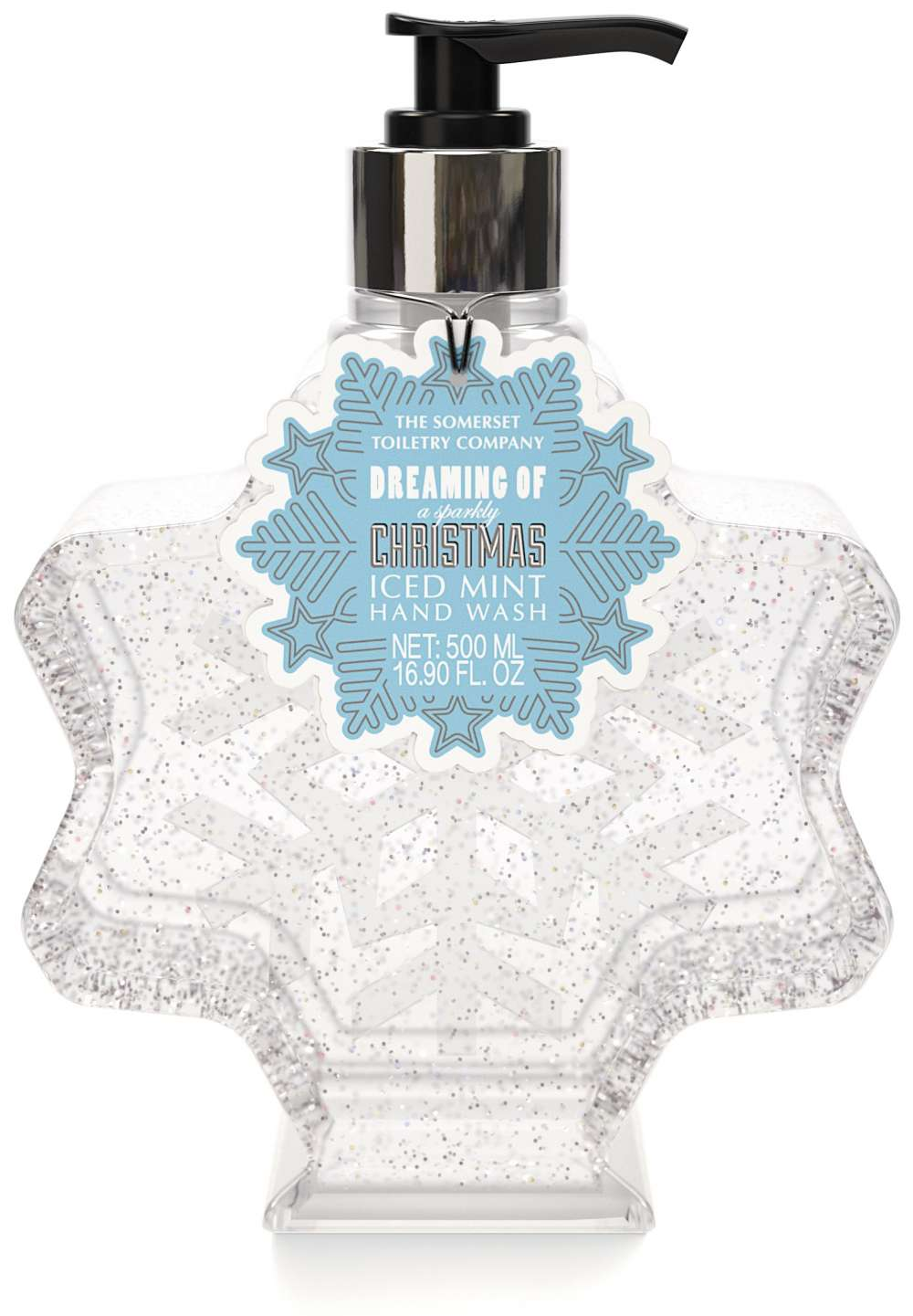 Iced Mint Snowflake Xmas Hand Wash