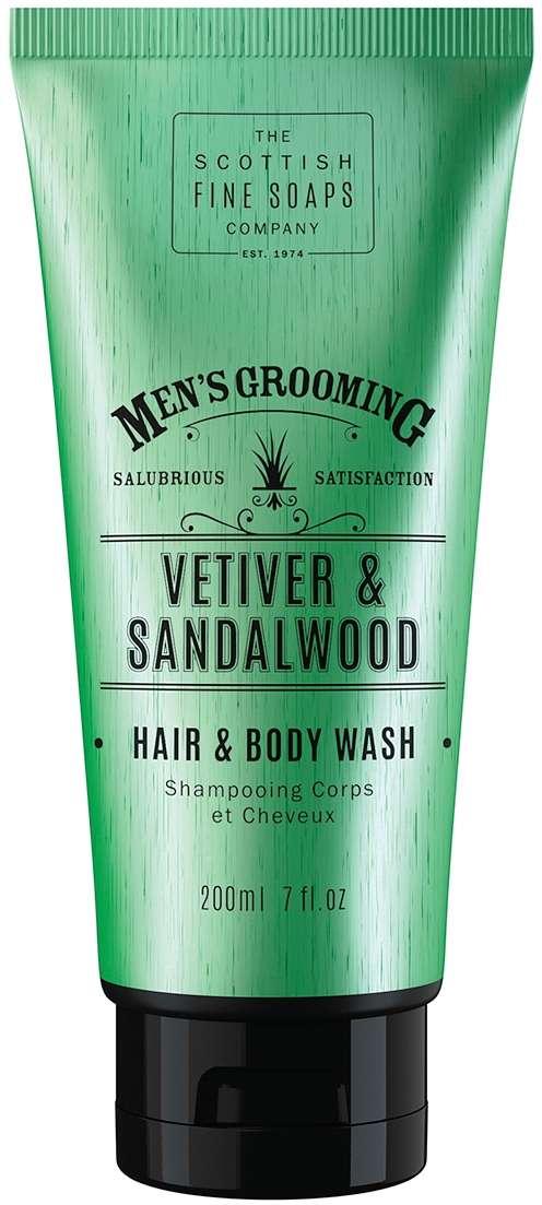 Vetiver & Sandalwood Hair & Body Wash