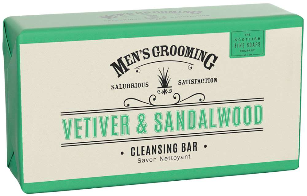 Vetiver & Sandalwood Cleansing Bar