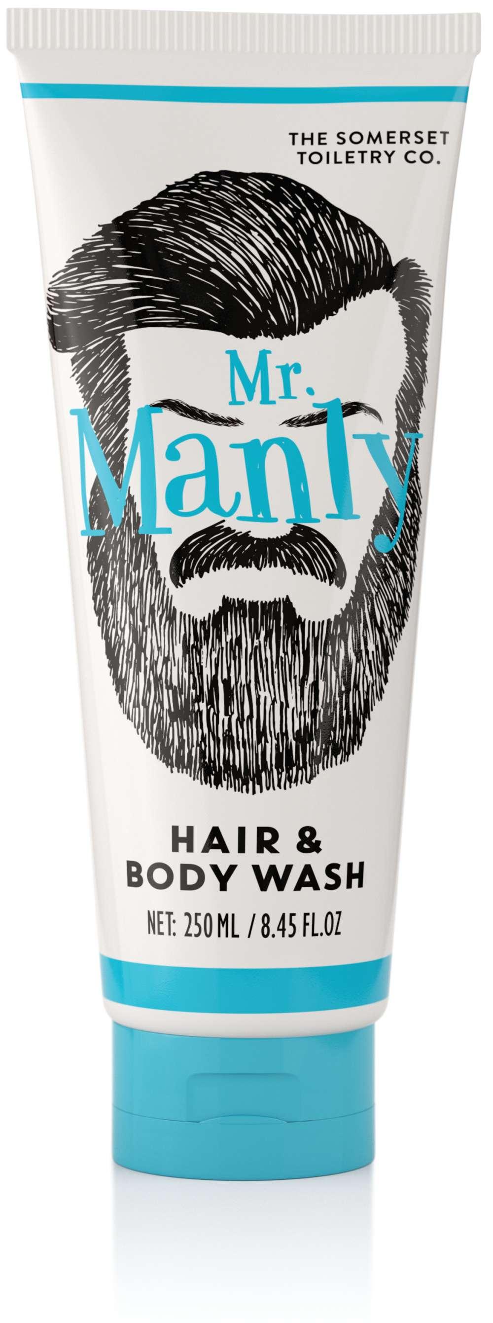 Mr Manly (Beard) Hair & Body Wash