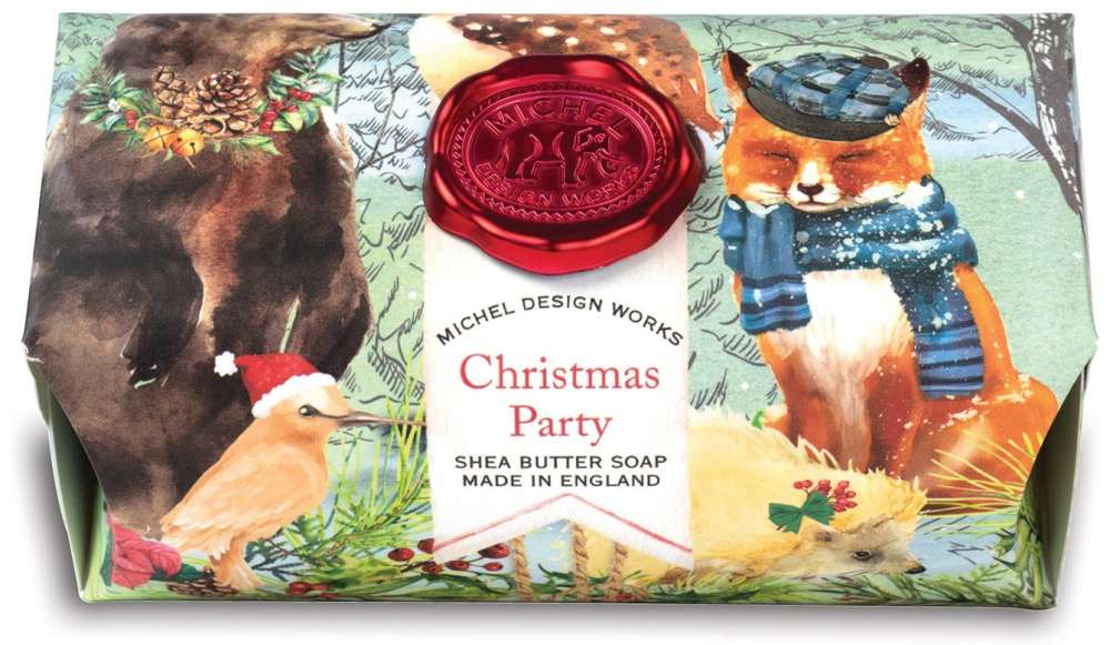 Christmas Party Large Soap Bar