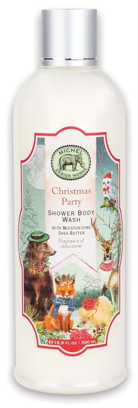 Christmas Party Shower Body Wash