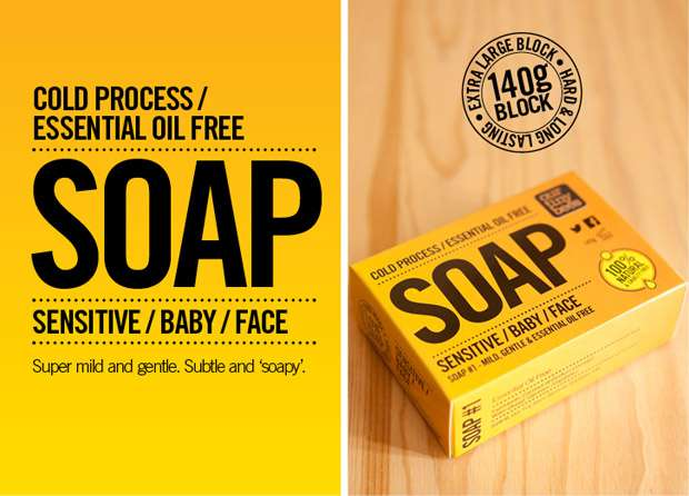 Non essential oil soap