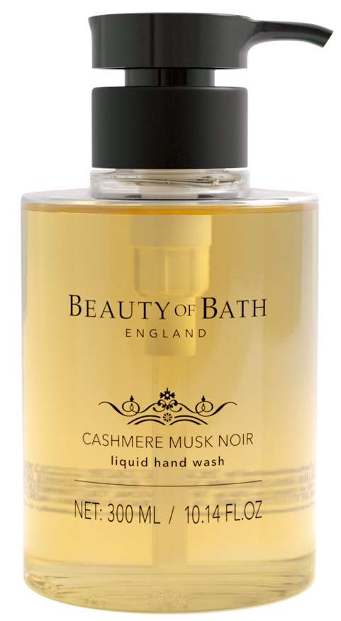 Beauty Of Bath Cashmere Musk Noir hand wash