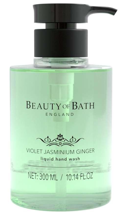 Beauty Of Bath Violet Jasminium Ginger hand wash
