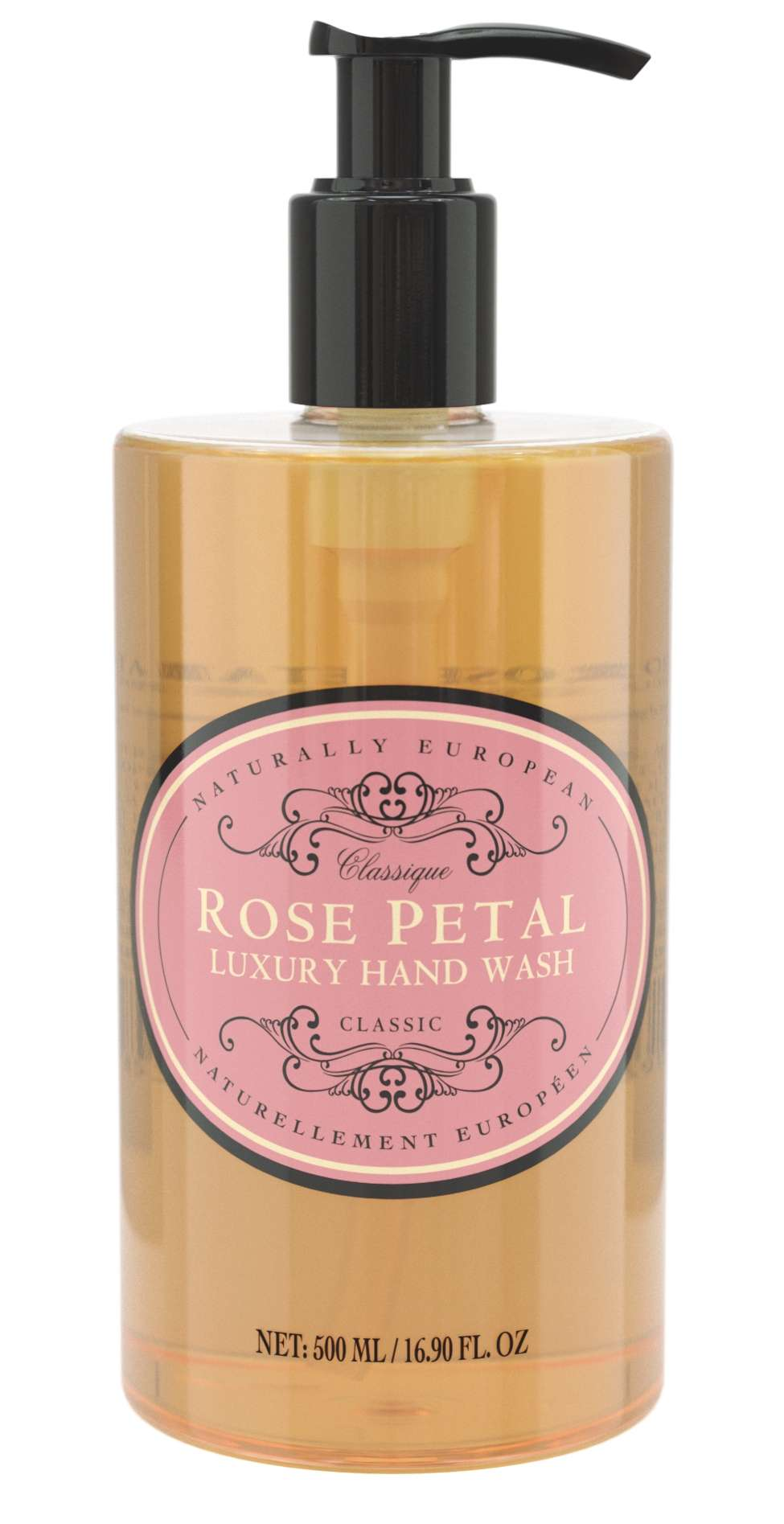 Naturally European Rose Petal hand wash