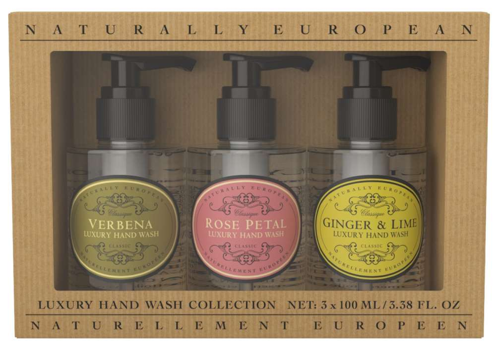 Naturally European Mini Hand Wash Collection