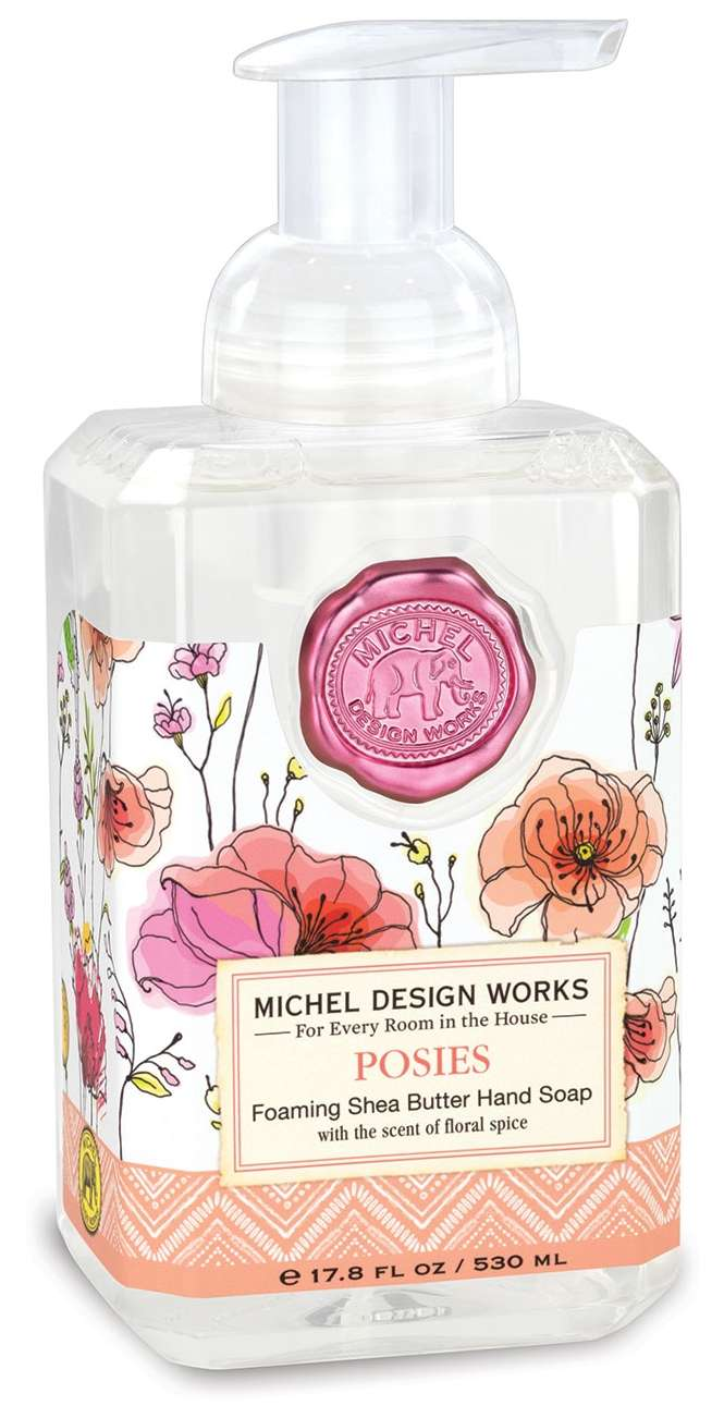 Posies Foaming Soap Hand Wash by Michel Design Works