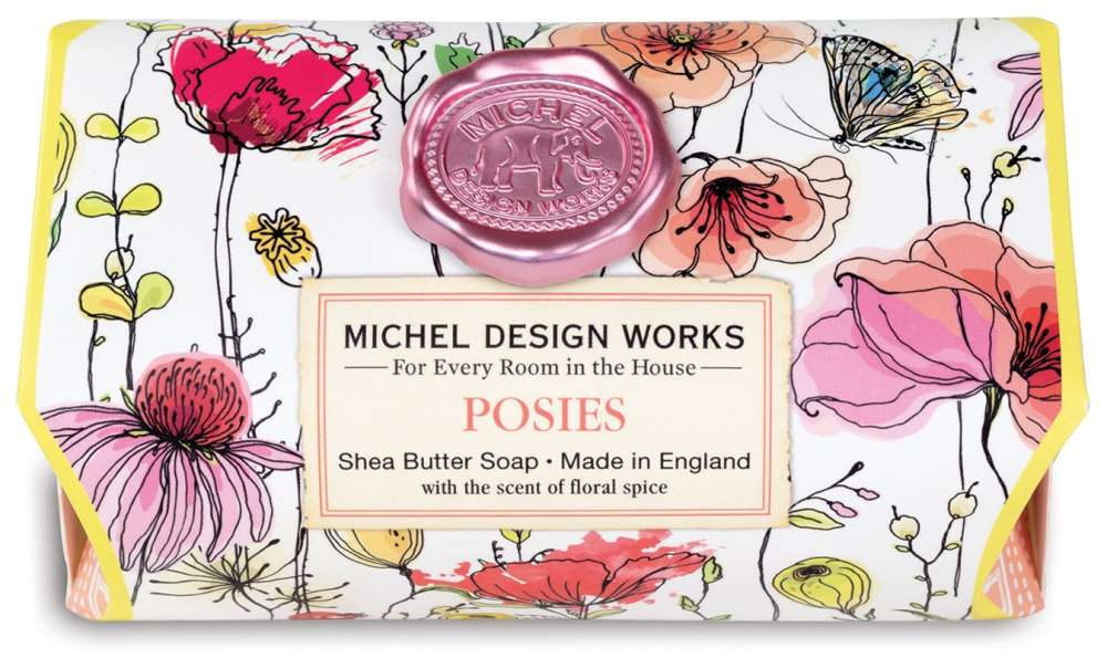 Michel Design Works Posies Large Soap Bar
