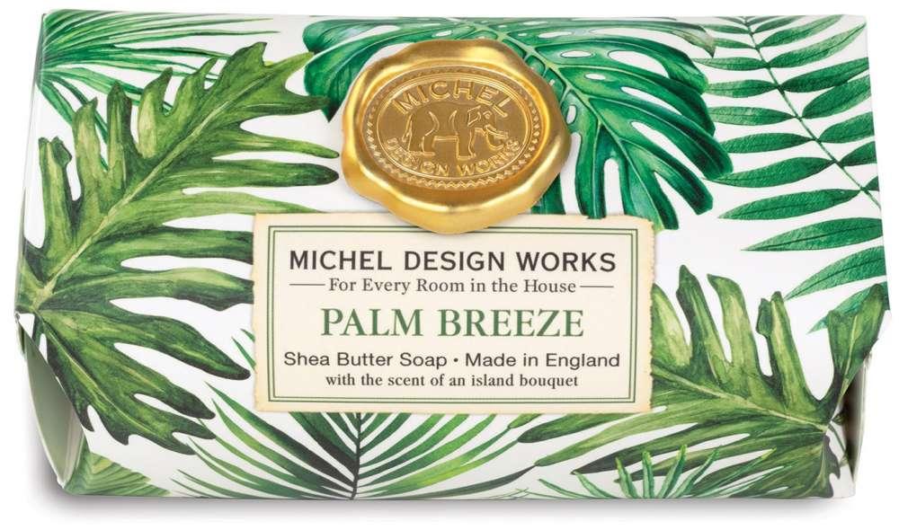 Palm Breeze Large Soap Bar