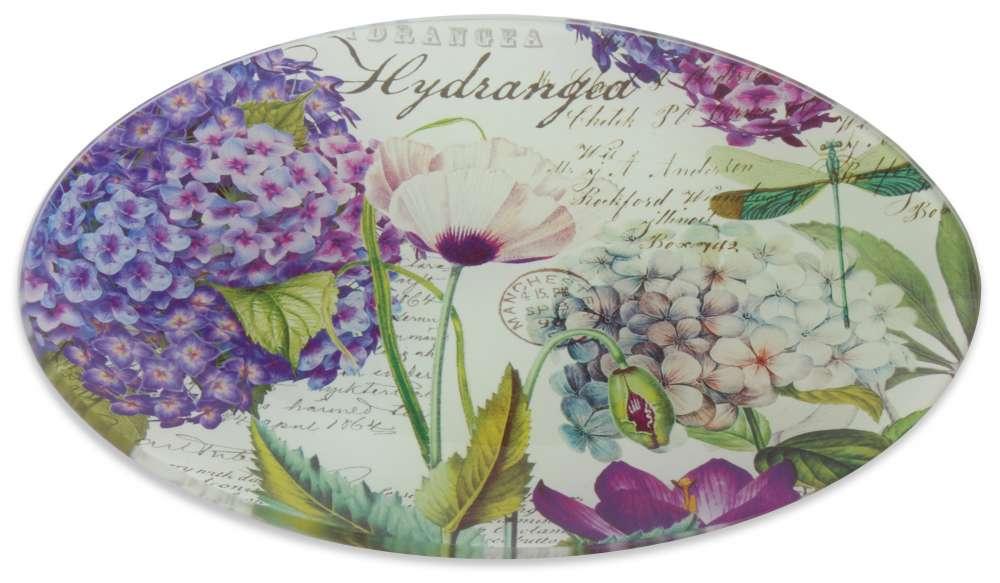 Michel Design Works - Hydrangea Glass Soap Dish
