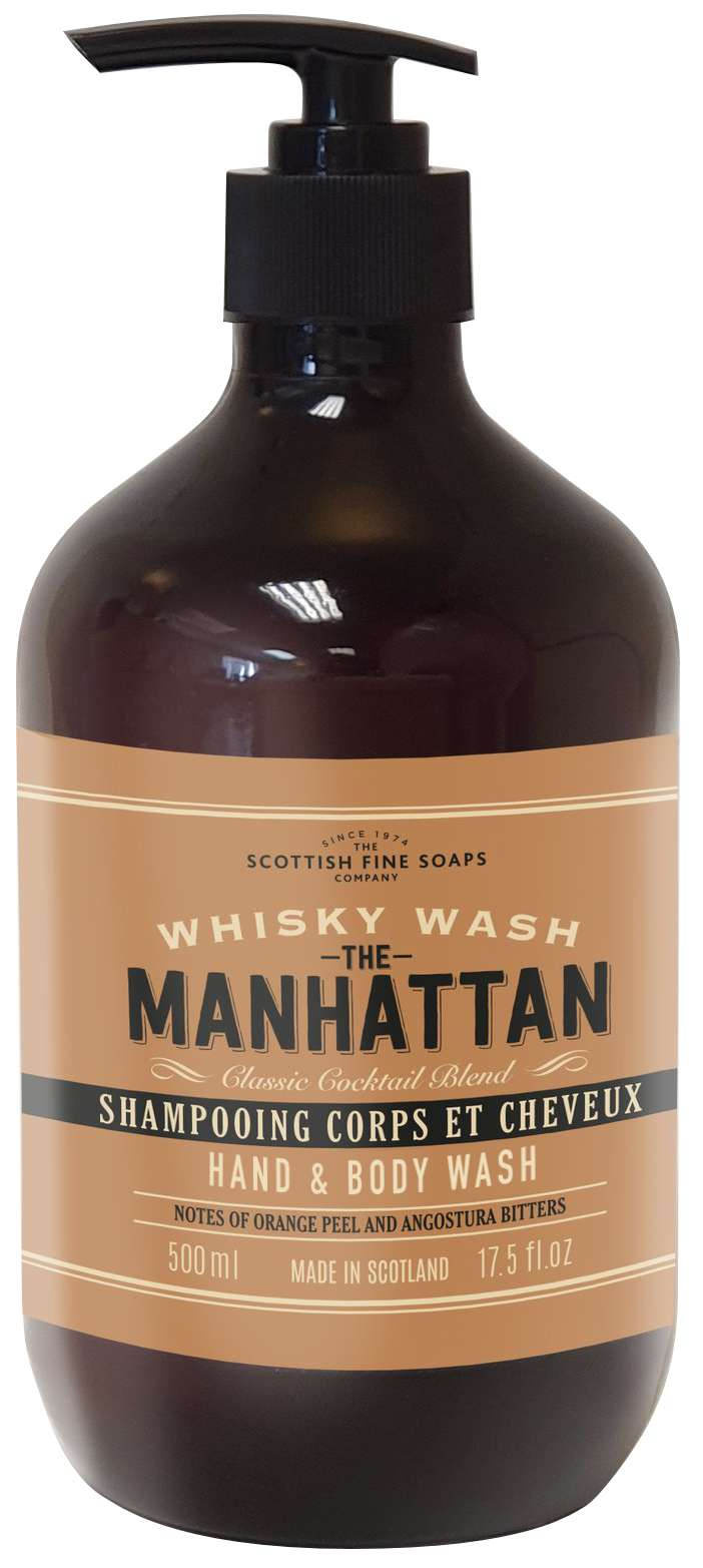 Manhattan Cocktail hand and body wash