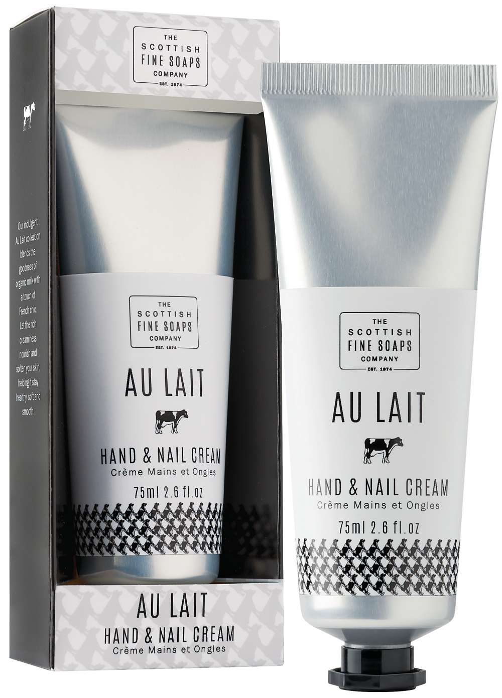 Au Lait Hand and Nail Cream