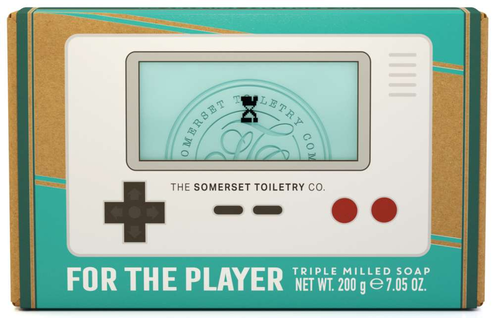 Retro mens soap - For the player