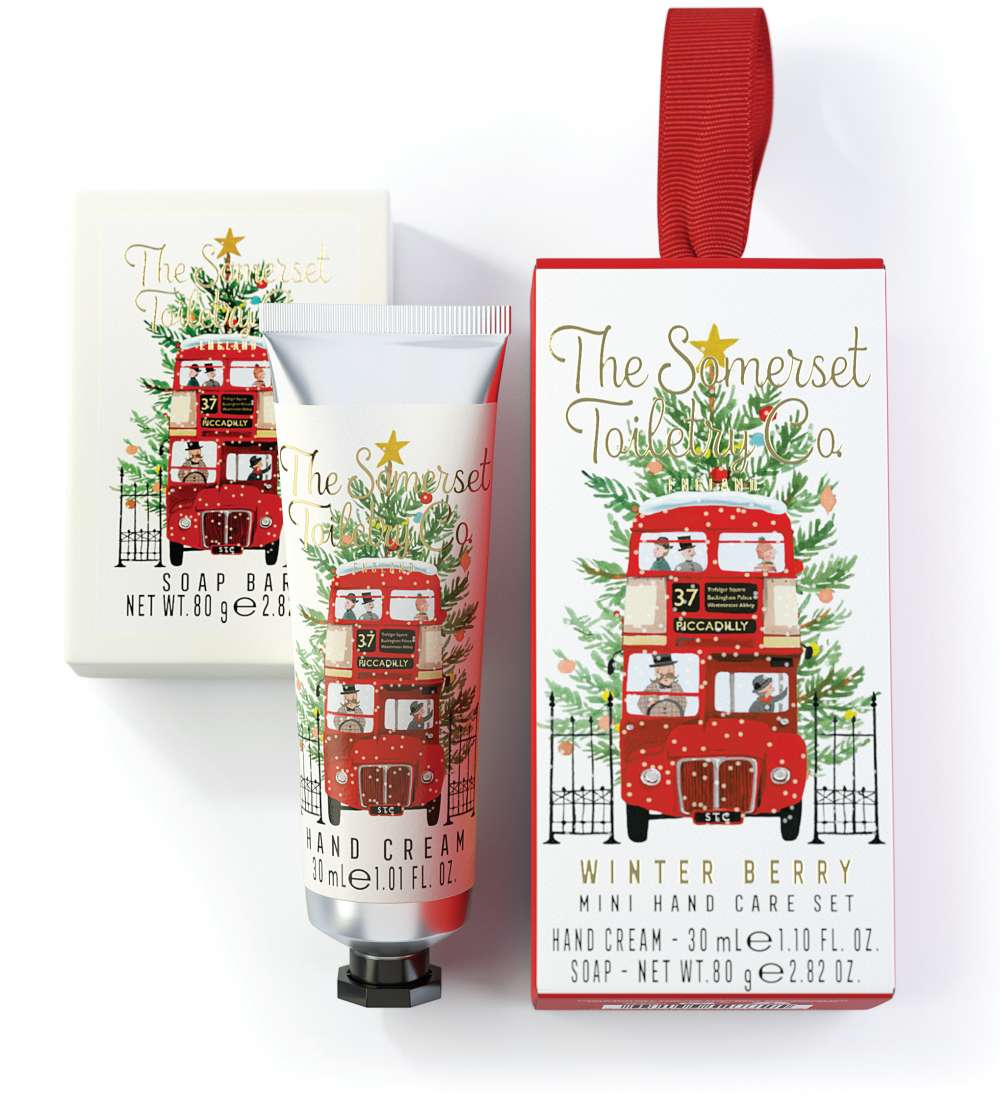 Capital Christmas hand care gift set - winter berry